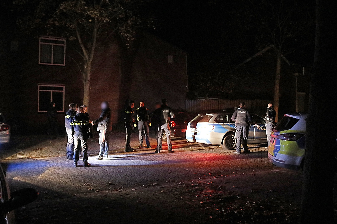 De vrouw is in Gennep opgepakt door de politie.
