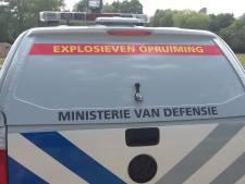 EOD laat in Veenendaalse achtertuin gevonden brisantgranaat ontploffen