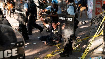 Burgerrechtenorganisatie klaagt Trump aan voor ontruiming park, president drijft zaken op de spits en deelt brief die demonstranten 'terroristen' noemt