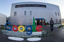 Google's enorme datacenter in de Groningse Eemshaven, officieel cloudregio Europe-West 4 genoemd. Hier worden de medische data van honderdduizenden Nederlandse patiënten opgeslagen.