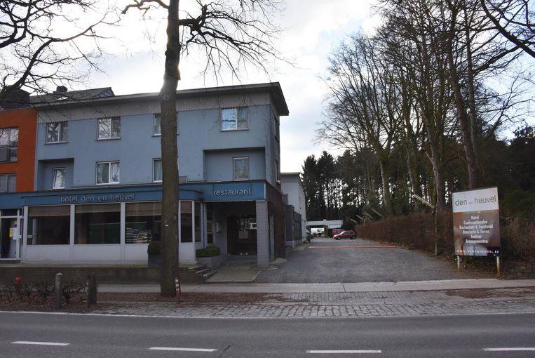 Het hotel Den en Heuvel ging in januari 2017 failliet.
