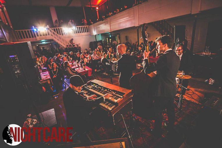 Gebaseerd op Jazzclubs in de VS, nu naar Amsterdam gebracht door Nightcare. Beeld Jordi Wallenburg