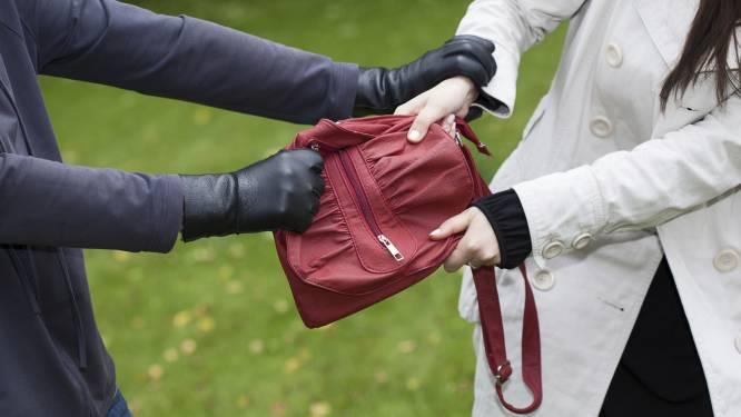 Handtasdief laat z'n identiteitskaart achter bij leeggemaakte tas