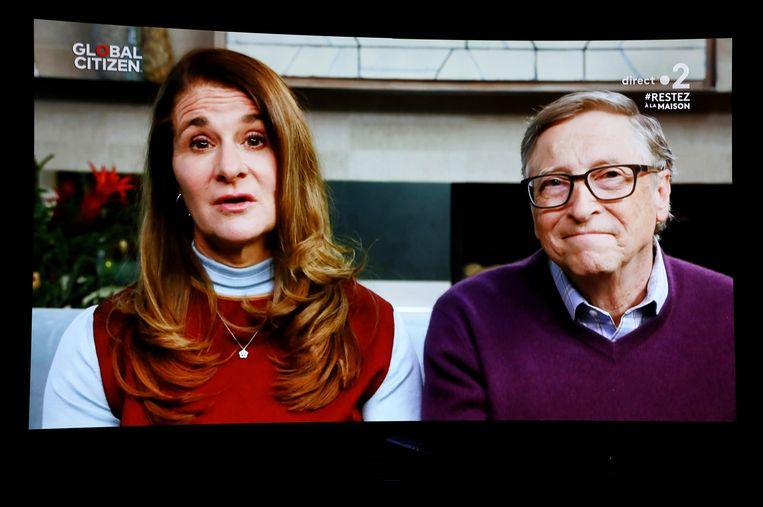 Melinda en Bill Gates. Beeld Photo News