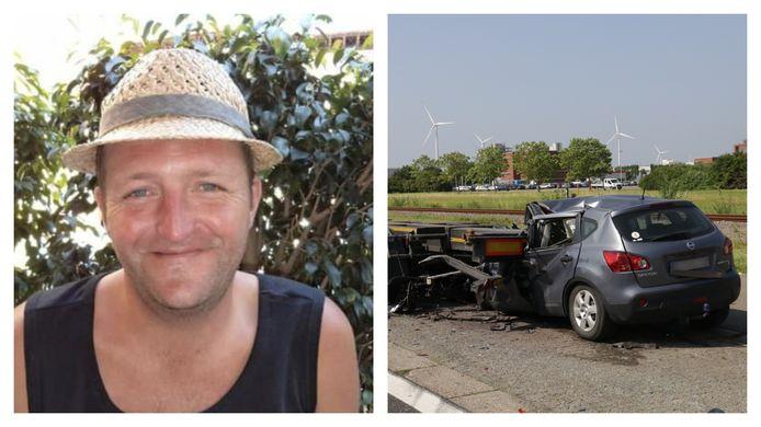 Joeri Van der Linden kwam dinsdag om het leven bij een zwaar verkeersongeval op de Ketenislaan in Kallo.