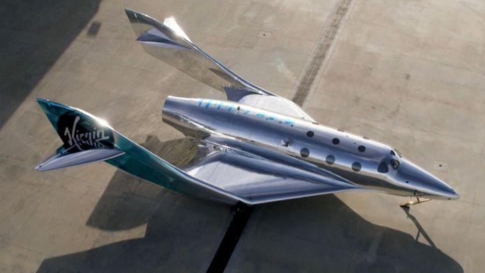Virgin Galactic dévoile son nouveau vaisseau spatial 'VSS Imagine'.