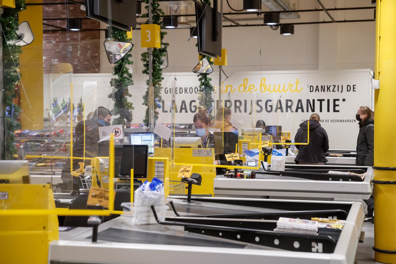 Jumbo Foodmarkt in Breda. Deze winkel was tijdens de kerstperiode zelfs 24 uur open om de drukte te spreiden.