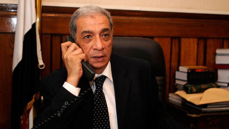 Procureur-generaal Hicham Barakat kwam in juni 2015 om het leven door een autobom. Beeld epa