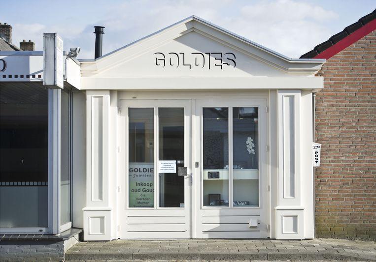 Juwelier Goldies aan de Milhezerweg in Deurne Beeld anp