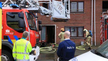 Elektrisch verwarmingstoestel vat vuur in badkamer: bewoonster bevangen door rook