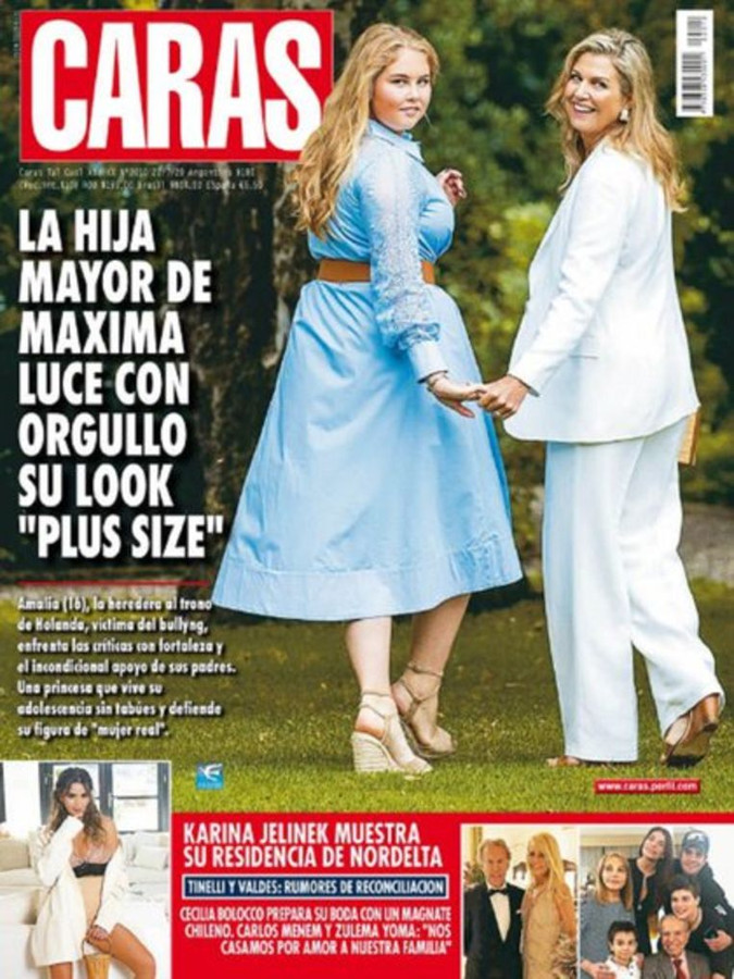 La couverture a fait polémique en Argentine.