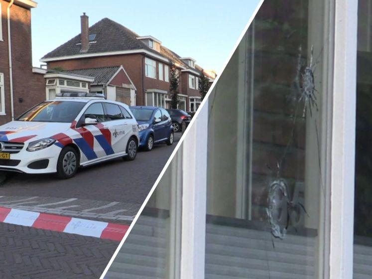 Enschedese woning beschoten: kogelgaten in ruit