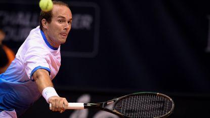 Olivier Rochus komt padelterreinen testen op Racing Tennis Club Wetteren