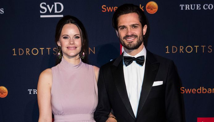 Prins Carl Philip en prinses Sofia van Zweden.
