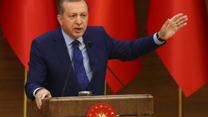 """Erdogan wil terrorisme met """"ijzeren vuist"""" bestrijden"""