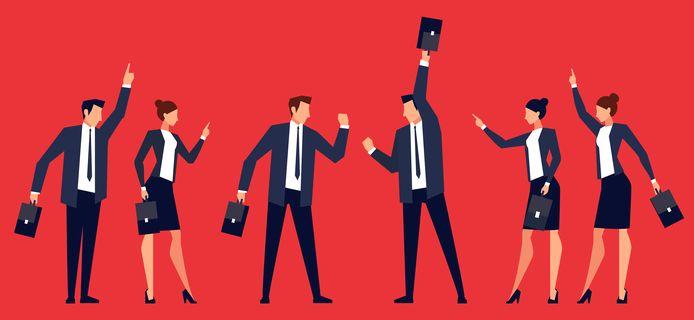 Onenigheid op de werkvloer kan worden veroorzaakt door de bevestigingsbias, weet neuropsycholoog Chantal van der Leest