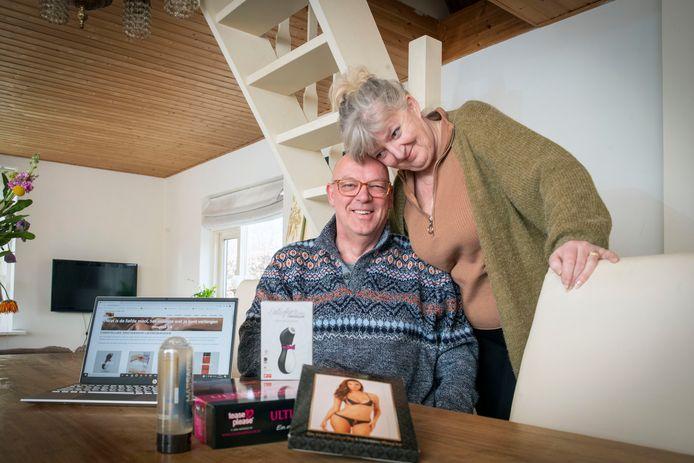 Ella Marjon en Martin Hol hebben een christelijke online seksshop die goed draait in coronatijd.