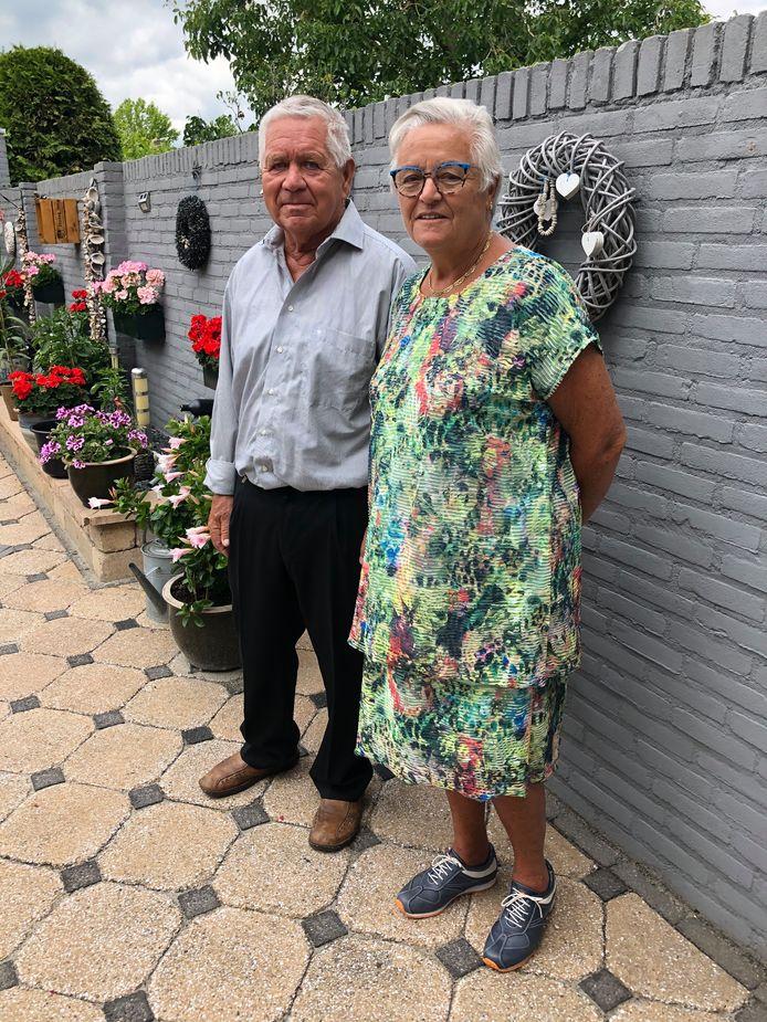 Gouden paar Bert en Maria van den Eijnden-Brom uit Valkenswaard.