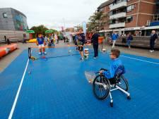 Sportmarkt in Citycentrum Veldhoven: Sporten is goed voor je conditie, én je contacten