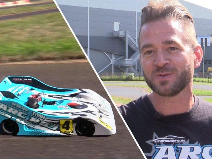 Formule 1 in het klein: John is Nederlands Kampioen RC Racing