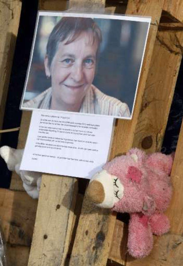 Het volwassen slachtoffer is Marita Blindeman, een 54-jarige medewerkster van de crèche. Beeld UNKNOWN