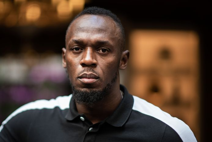 Voormalig topsprinter Usain Bolt.
