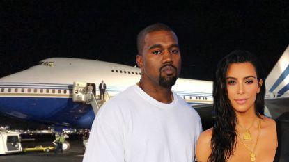 Iedereen woedend op Kim Kardashian die hele Boeing 747 als privévliegtuig gebruikt