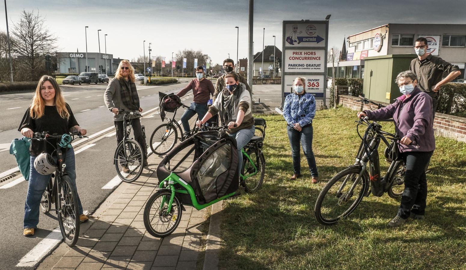 Groen Menen fietst voor een betere mobiliteit en meer fietsveiligheid.