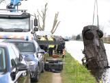 Duikers politie vinden bij oefening gestolen BMW in de Schie