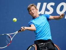 Rolstoeltennisser Niels Vink doet het ook goed op US Open: eerste in dubbel, tweede in enkelspel