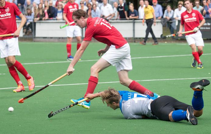 De hockeyers van Ede wonnen met 4-2 zege van Bully. Archieffoto Herman Stover