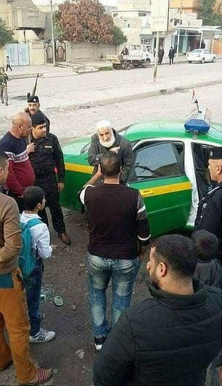 Abu Omer bij zijn arrestatie