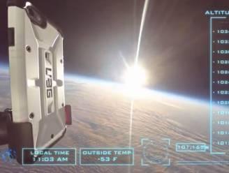 iPhone 6 maakt unieke afdaling vanuit de ruimte