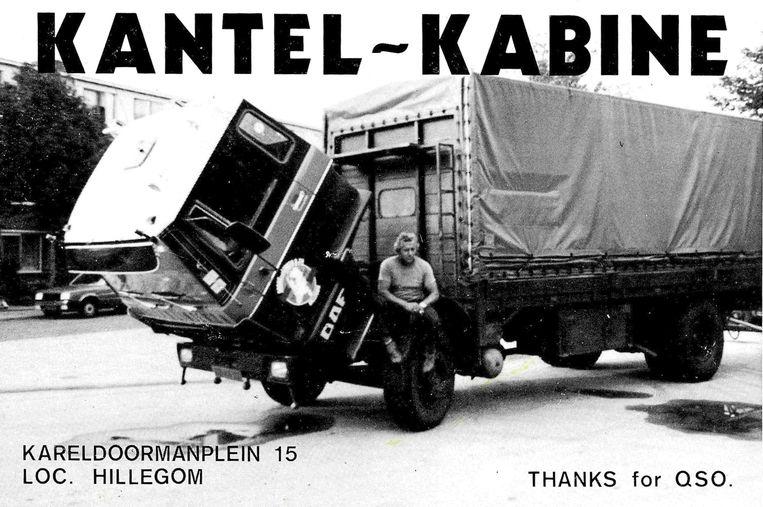 Vader Jan van der Linden was vrachtwagenchauffeur.  Beeld Foto privé-bezit Frénk van der Linden