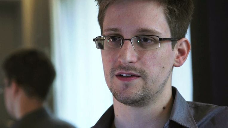 Klokkenluider Edward Snowden Beeld reuters