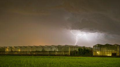 Code geel houdt aan: tot vrijdag kans op lokale onweersbuien
