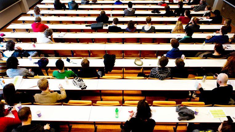 'Sommige internationale studenten zien zich gedwongen in auto's en op campings te slapen, omdat ze geen kamer kunnen vinden' Beeld anp