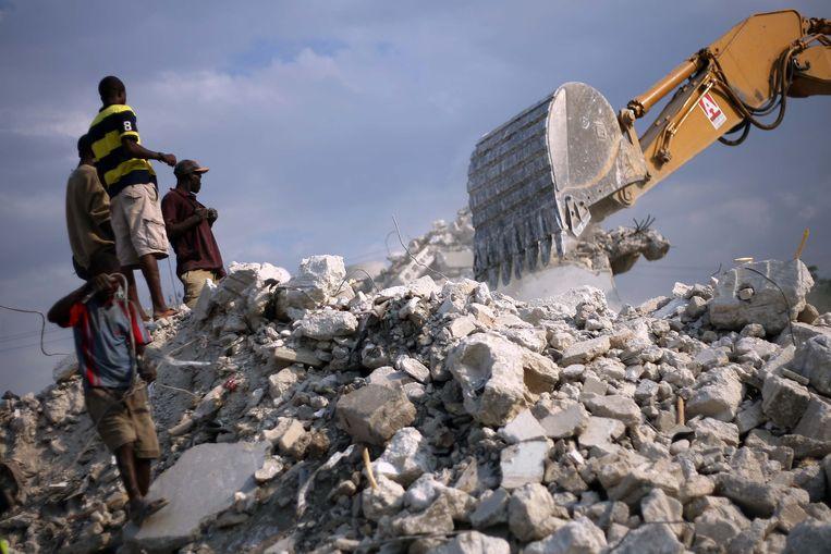Archiefbeeld aardbeving Haïti 2010. Beeld AFP