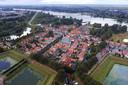 Klein en compact, de vesting Nieuwpoort.