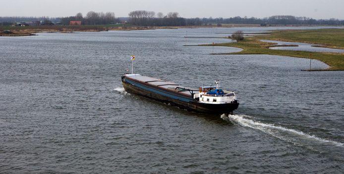 Een binnenvaartschip. Foto ter illustratie.