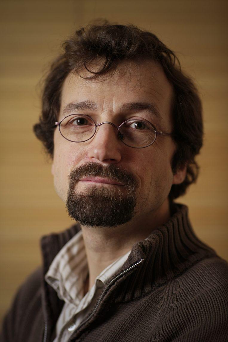 Bart Kerremans (KU Leuven) Beeld Thomas Vanhaute