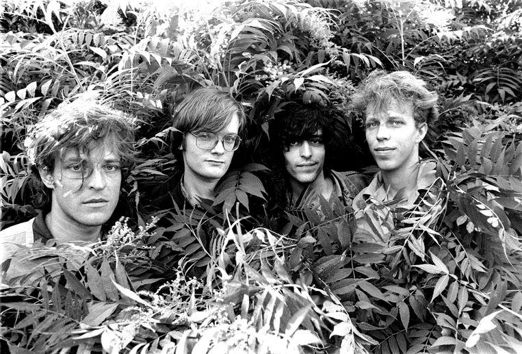 Fatal Flowers in 1985. Beeld Roy Tee