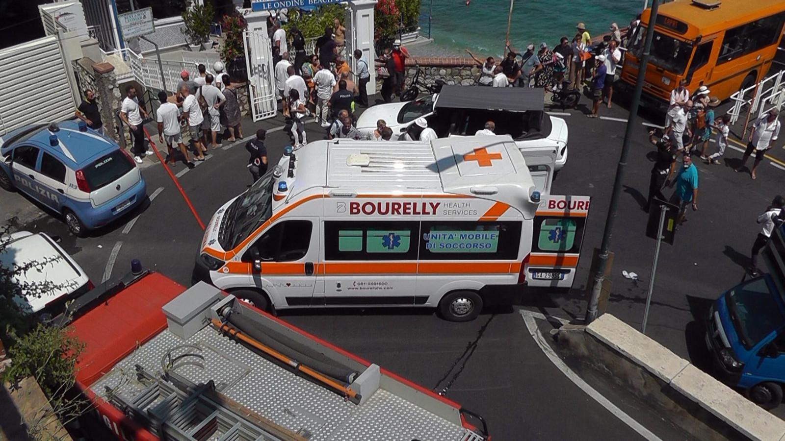 Vier van de gewonden, waaronder een jongetje, zijn er slecht aan toe.