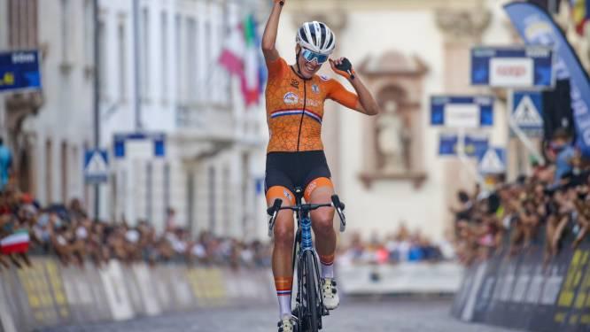 Ellen van Dijk kroont zich na indrukwekkende solo tot Europees kampioen