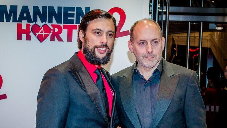 Alain de Levita (rechts) met Kaja Wolffers. Beeld anp