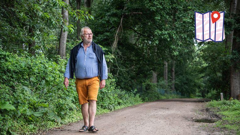 Auteur Mark De Block breekt een lans voor de Gratiebossen: een brokje natuurschoon op de grens tussen Zele en Berlare.