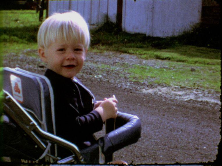Kurt Cobain als kind. Beeld rv