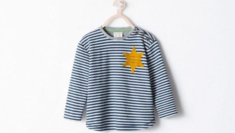 Het gewraakte shirt van Zara. Beeld Zara