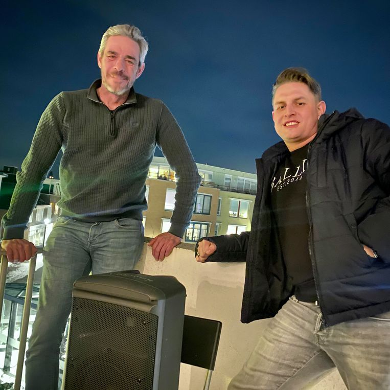 Erwin Tiggelhoven (l) en Richard Alberts. Beeld