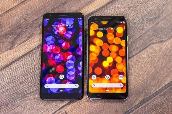 Pixel 3A XL en Pixel 3A